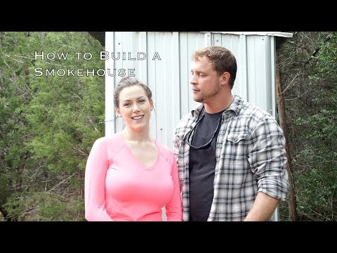 How to Build a Smokehouse | Margot Brown