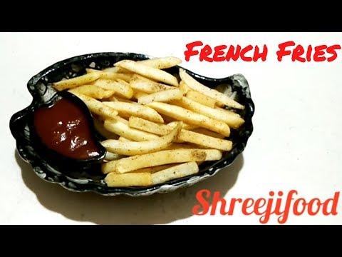 crispy french fry recipe  ઘરે ક્રિસ્પી ફ્રેન્ચ ફ્રાઇસ બનાવવાની રીત