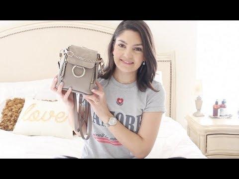 CHLOE Faye Mini Backpack Review + What Fits Inside!