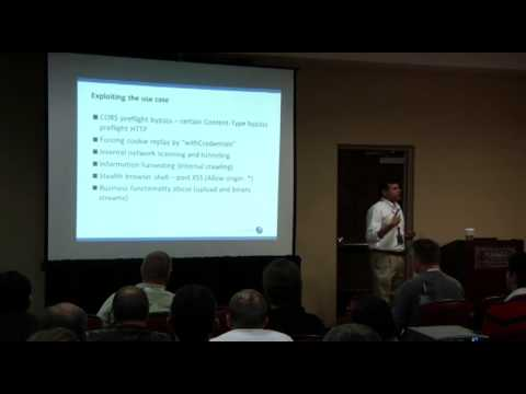 OWASP AppSecUSA 2012:  XSS & CSRF with HTML5 - Attack, Exploit and Defense