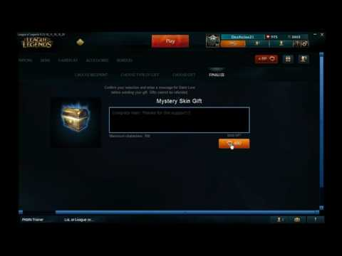 Free skins for League Of Legends