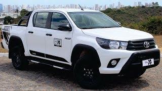 Avaliação da Toyota Hilux SR Challenge 2018
