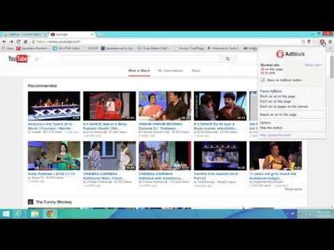 How To Remove Adblock On Google Chrome | New 2014