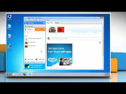 How to reply to an Instant Message in Skype®