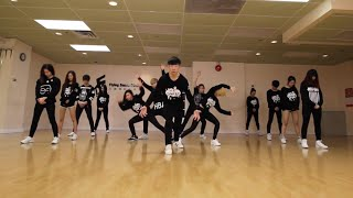 Flying Dance Studio 2016 HIPHOP+KPOP dance rehearsal (Jessi SSENUNNI)