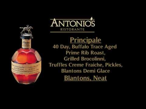 Antonio's Buffalo Trace Dinner