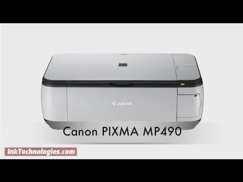 Canon PIXMA MP490 Instructional Video