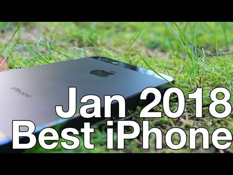 iPhone Buying Guide - January 2018