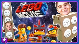 FAKE LIEGO vs LEGO Movie 2 Toys! Adventure and Play with HobbyKidsTV