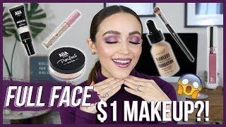 TESTING $1 MAKEUP!!! AND OMG!!!! | ShopMissA Haul / GRWM