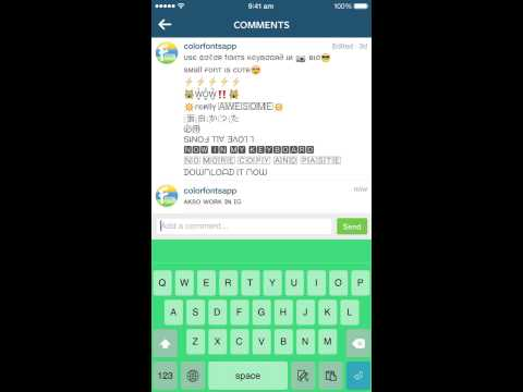 Color Fonts Keyboard ∞ Cool Font Keyboards with background themes for iOS 8 !