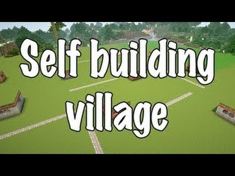 Minecraft: Self Building Village