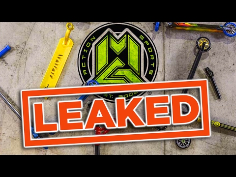 MADD GEAR Vx7 2017 SCOOTERS LEAKED!!!