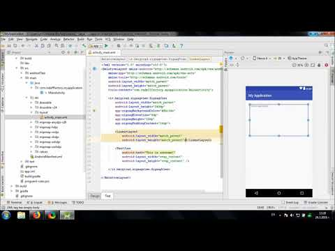 Using ZigzagView library in Android Studio