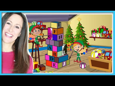 Toyland Christmas Song for Children | Santa Workshop | Toys and Elves | Patty Shukla