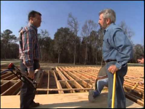 Installing the Tongue-and-Groove Plywood Subfloor System