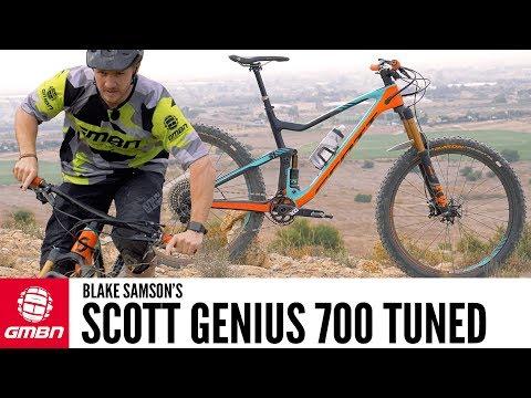 Blake Samson's Scott Genius 700 Tuned | GMBN Pro Bikes