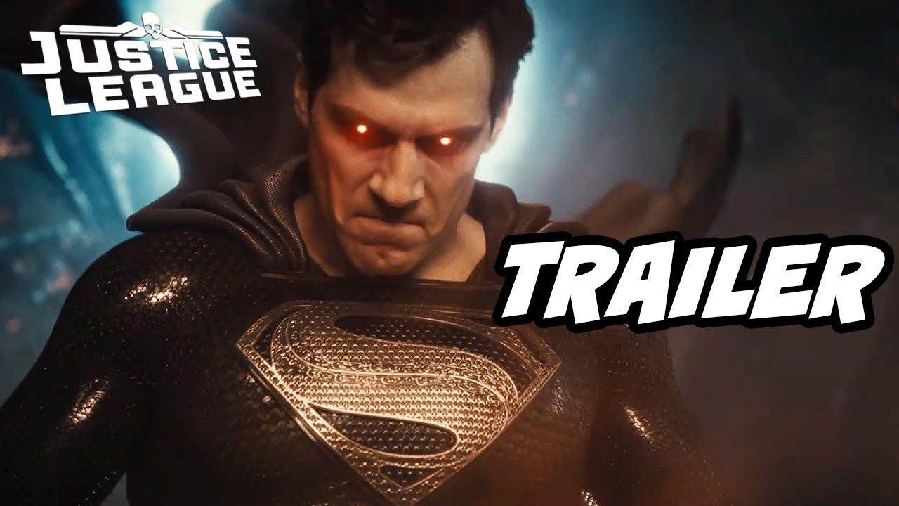 Justice League Snyder Cut Trailer 2021 - Batman Joker and Darkseid Easter Eggs Breakdown