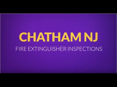 Chatham Fire Extinguisher Inspections