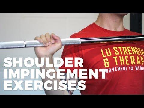 3 BEST EXERCISES FOR SHOULDER IMPINGEMENT (PAIN RELIEF)
