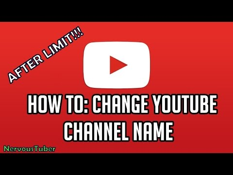 How to Change your YouTube (Google+) Name After Limit