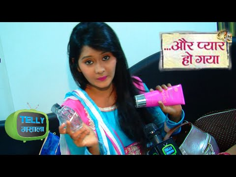 Exclusive Chat With Avni From Aur Pyaar Ho Gaya In her Make Up Van | Zee Tv