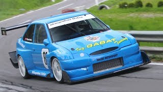 700HP Ford Escort RS Cosworth E1 Hillclimb Monster by Gabat - Flat Out at Verzegnis!