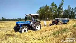 New Holland 3630 4WD power