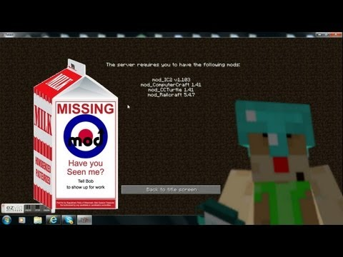 2 Quick-fix Tekkit problems: Why does tekkit say I'm missing mods and Update Failed?