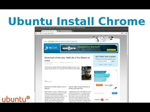 HowTo: Install Google Chrome in Ubuntu Linux Using apt-get Command Line