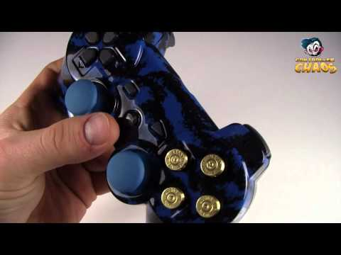 PS3 Bullet Buttons - Modded PS3 Controllers - Controller Chaos
