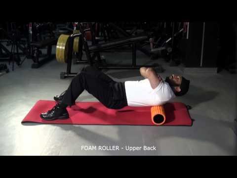 FOAM ROLLER - Upper Back