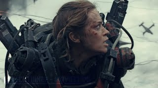 Edge Of Tomorrow |2014| All Battle Scenes [Edited]