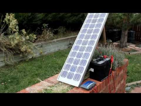 DIY Solar: Simple, cost-effective battery charging
