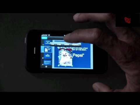 iWork on the iPhone 4