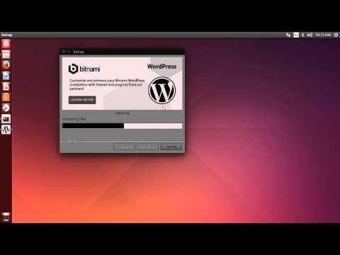 Wordpress Multisite - Bitnami on Ubuntu Web developer machine Post 001