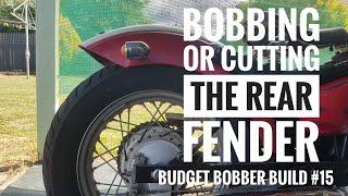 Yamaha xv1600 bobber buildup Pt 13