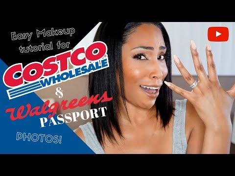 Walgreens Passport and Costco Membership Makeup Tutorial
