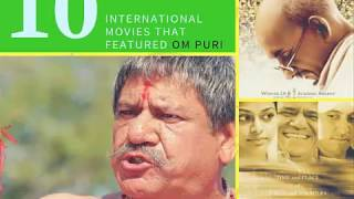 Top 10 international movies that featured Om Puri