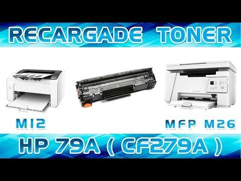 RECARGA │REFILL DE TONER HP 79A (CF279A)