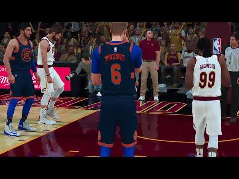 NEW (New York Knicks) 2018 Away Jersey NBA 2K18