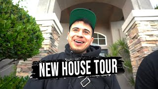 EMPTY NEW HOUSE TOUR WITH JOP