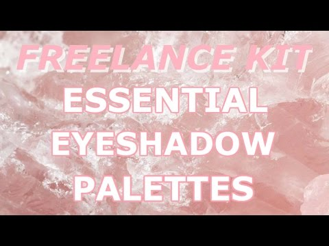 FREELANCE MAKEUP KIT | FOUR ESSENTIAL EYESHADOW PALETTES