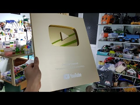 My Gold Play Button | Mini Give Away | Thank YOU For 1,2 MILLION Subscribers