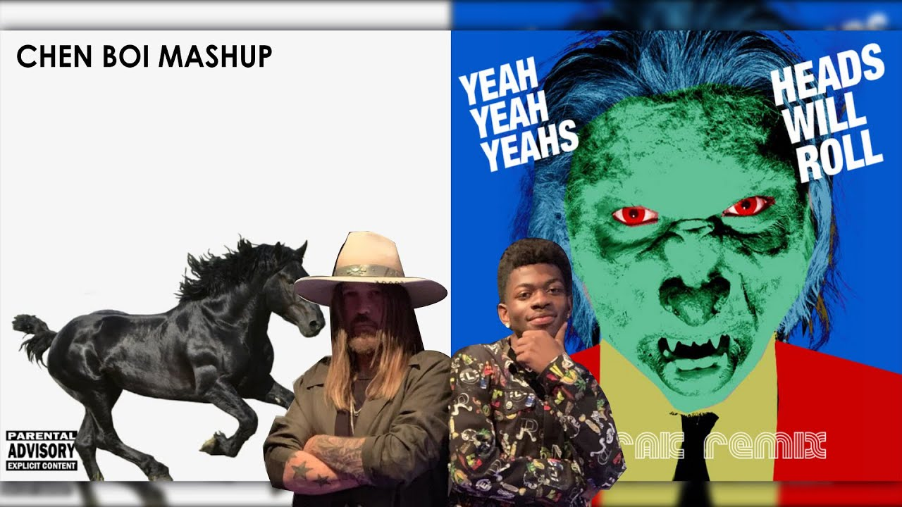 Lil Nas X & Yeah Yeah Yeahs - Old Town Road / Heads Will Roll (A-Trak Remix)