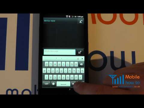 How To Change The Keyboard Language (Writing Language) - Sony Xperia S