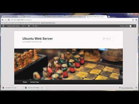 Install CMS in Ubuntu Web Server (WordPress, Joomla, Drupal) [HD]