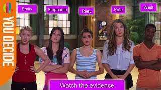 The Next Step Clickable Video - Who's the Bully? CBBC