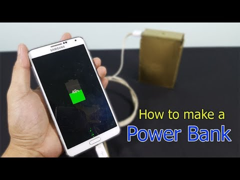 How to make a POWER BANK from LAPTOP BATTERY