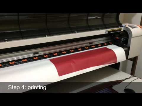 Full-Dye Fabric Sublimation Process: Basketball Uniform